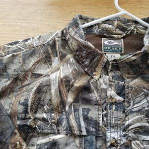 Drake Waterfowl Mens Long Sleeve Shirt 3XL